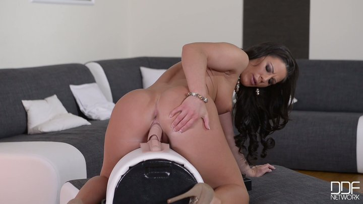 Executioner darling Athina love takes a long hot ride on extravagant sybian