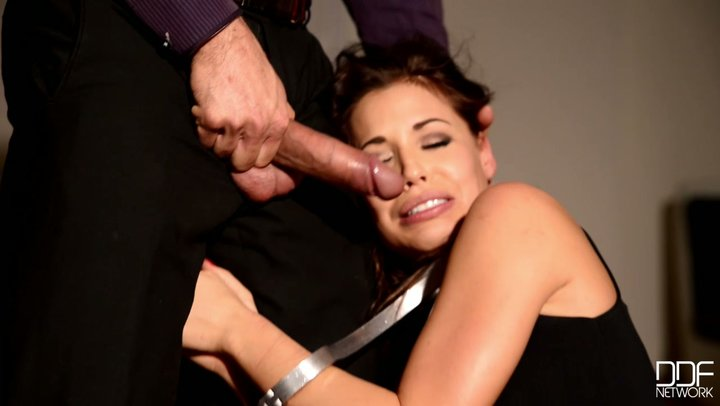 Merciless expert gives no leniency to his wonderful slave Satin Bloom
