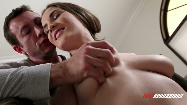Flavorful Molly Jane gets her huge delicate boobs screwed and showered in cum