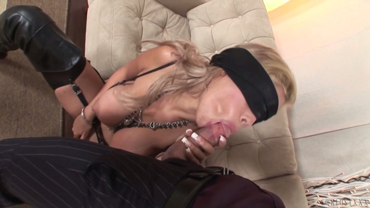 Breathtaking thot with epic DDD boobs Bridgette B screws blindfolded
